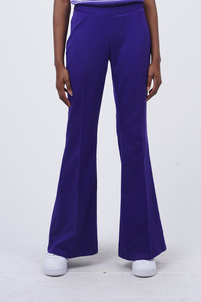 Vintage 90's Purple Flare Trousers