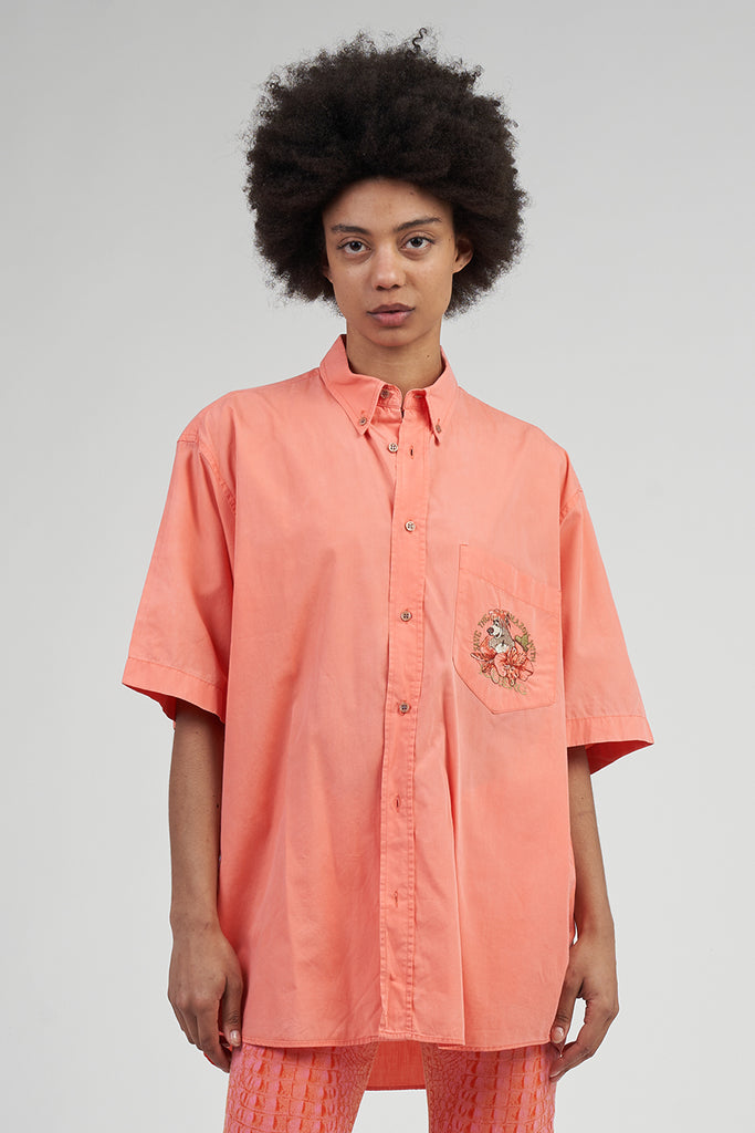 Vintage Coral 90's Iceberg Save The Amazon Oversized Shirt