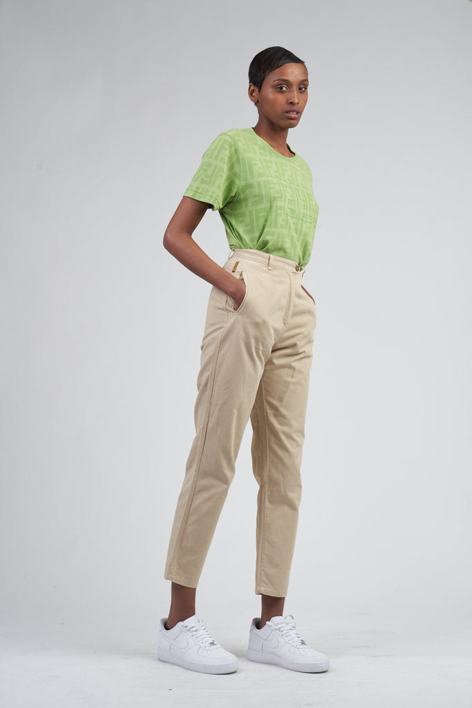 Vintage 90's High Waisted Armani Trousers
