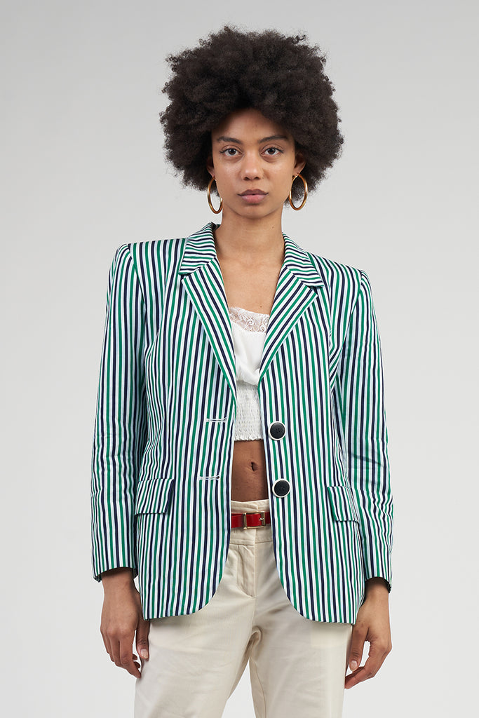 Vintage 90's Striped YSL Blazer