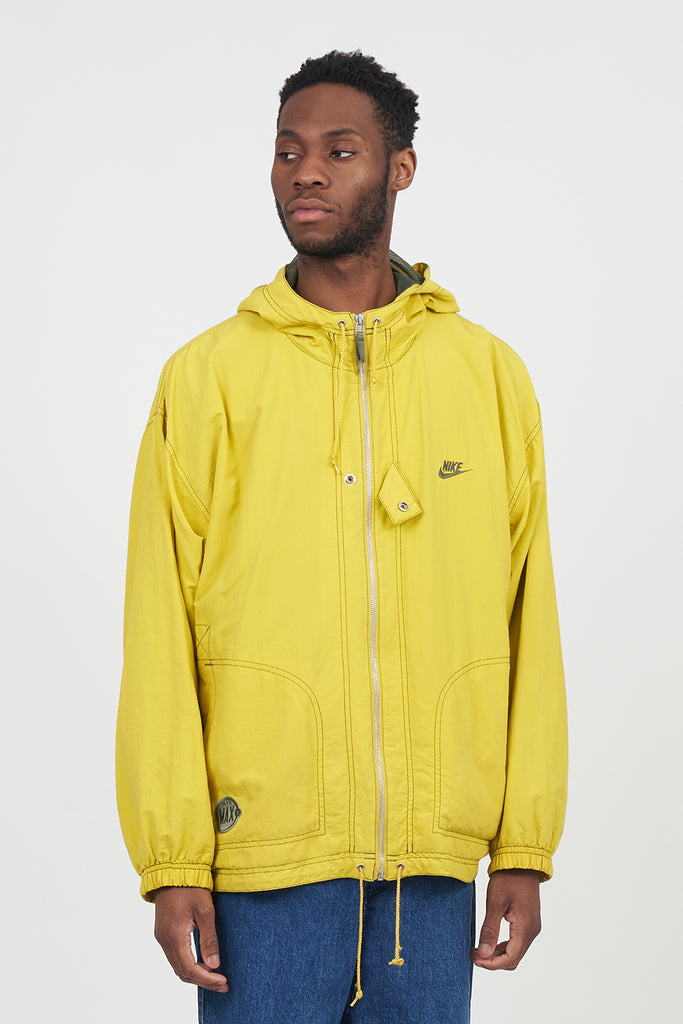 Vintage 90's Nike Neon Yellow Windbreaker