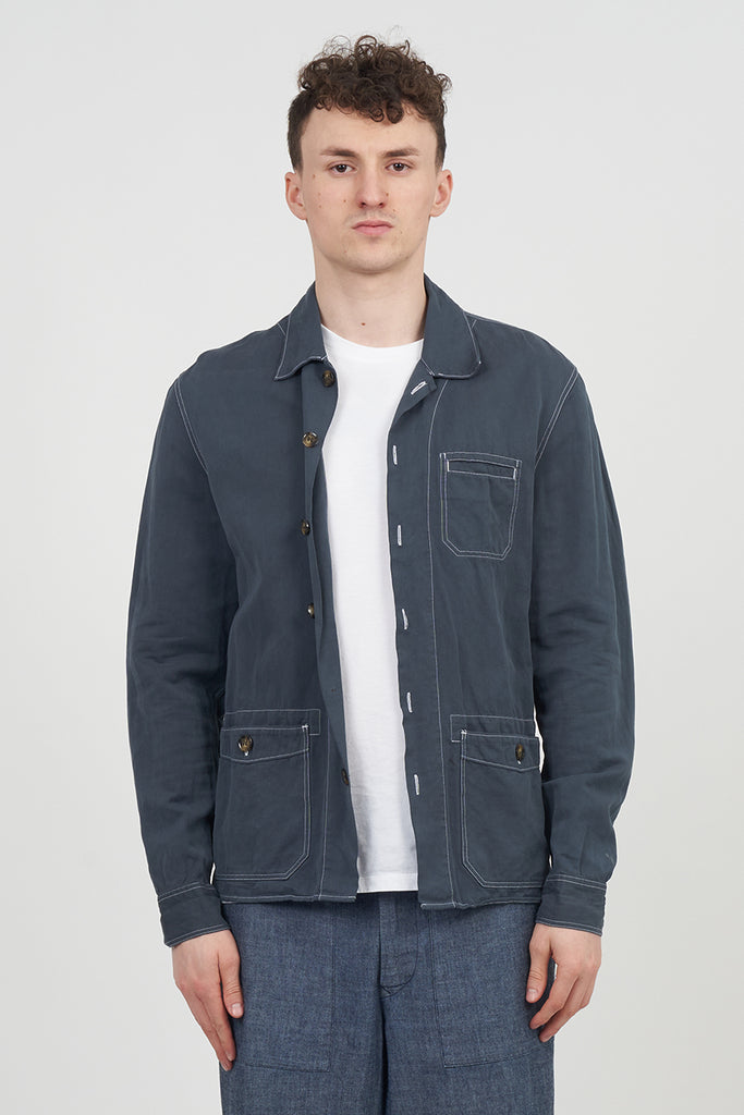 Burberry Brit Blue Workman Overshirt