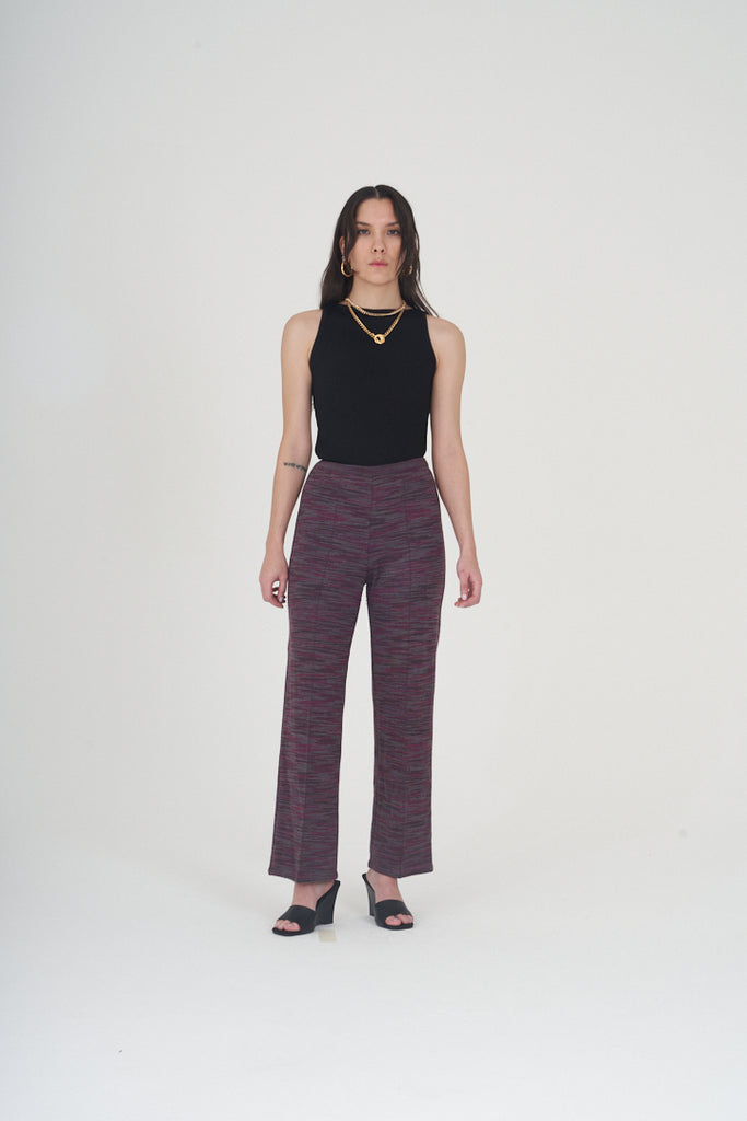 Vintage 2000s Missoni Multi Tone Stretch Trousers