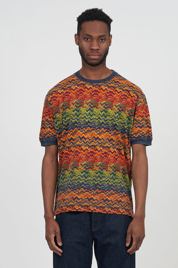 Vintage 80's Missoni Multi Coloured T-Shirt