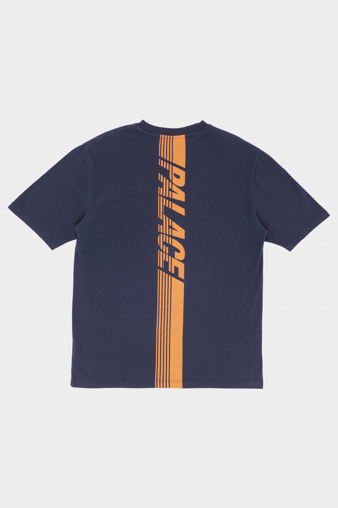 Rare 2017 Palace Race Logo Grey T-Shirt