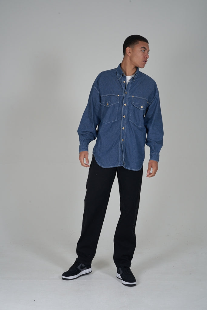 Vintage 90's Versace denim shirt