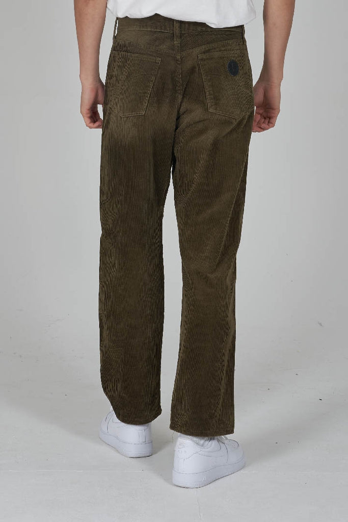 Vintage 80's Moschino sage green corduroy trousers