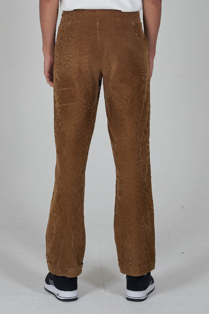 Vintage 90's Burberry beige cords trousers