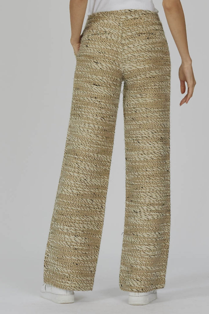 Vintage 90's Byblos knitted wide leg trousers