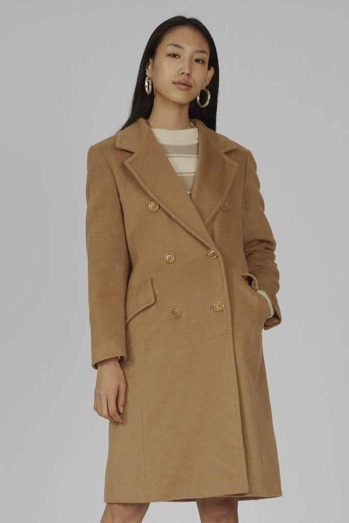 Vintage doubel breasted camel MaxMara coat