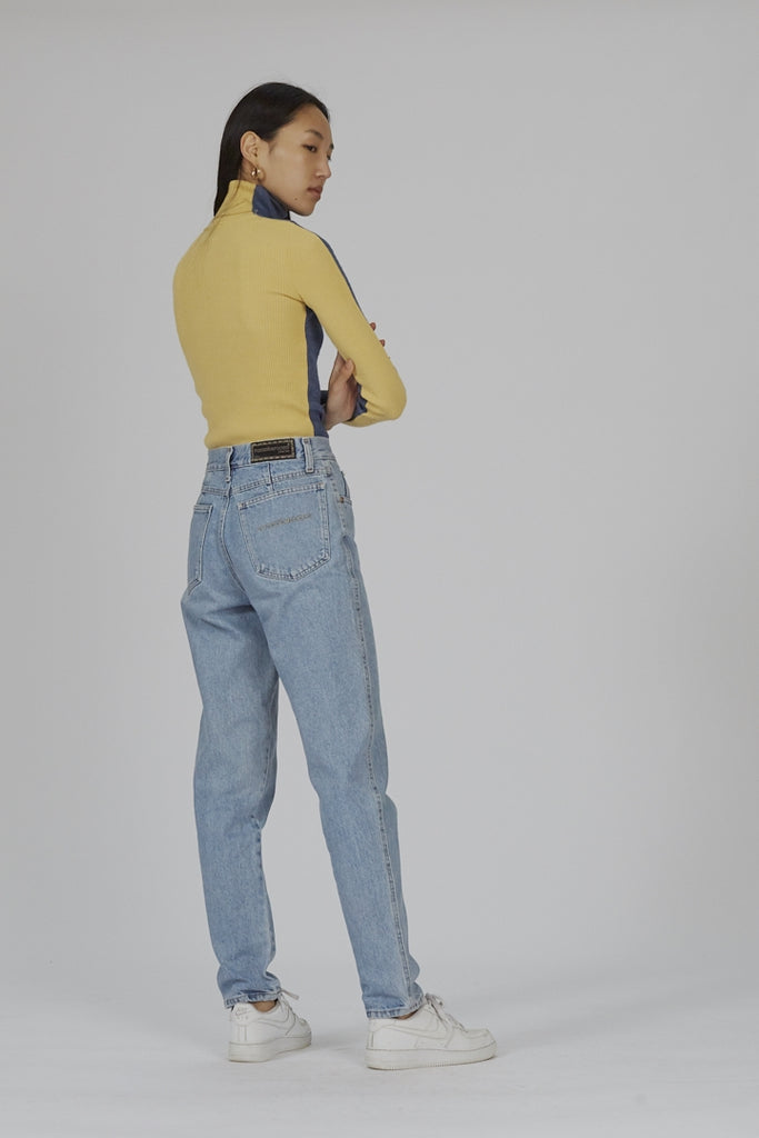 Vintage 90's high waisted Roccobarocco mom jeans