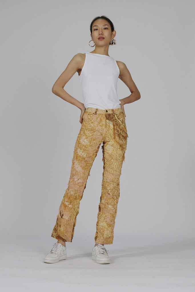 Vintage 90's distressed Cavalli high waisted jeans