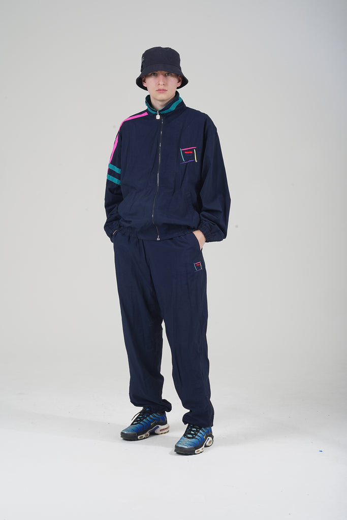 Vintage 90's Multi Coloured Fila Tracksuit Co-ord