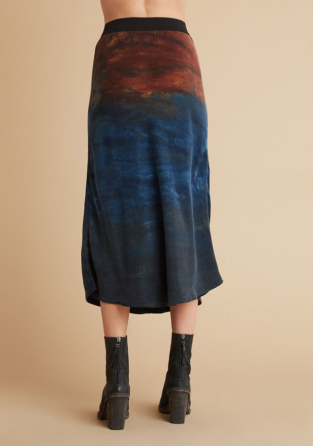 Autumn Sky Bias Skirt