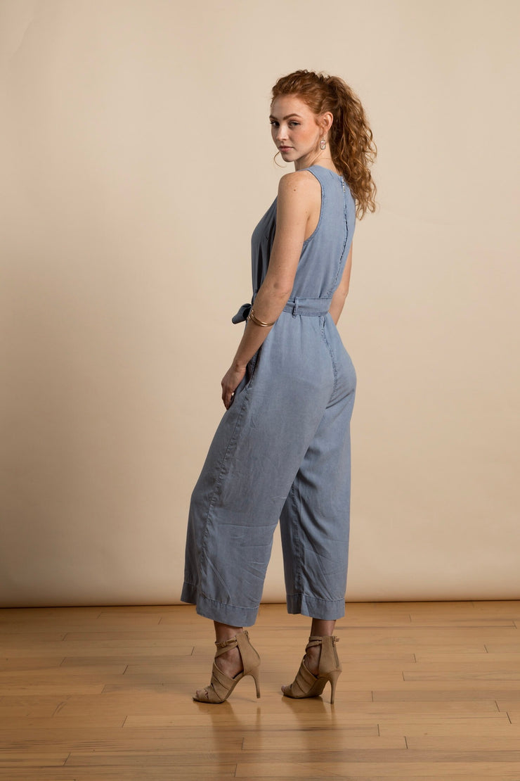 Zip Back Jumpsuit