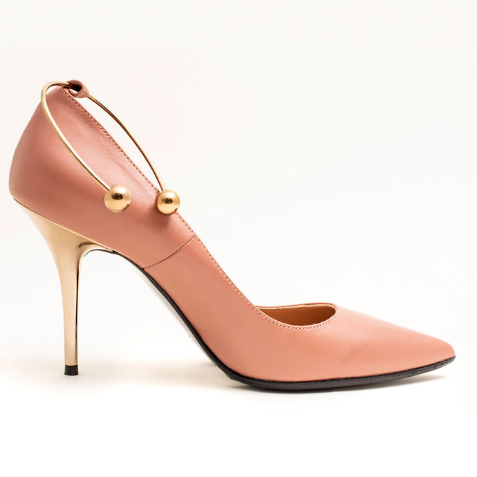 DUSTY PINK LADIES PUMPS HEELS