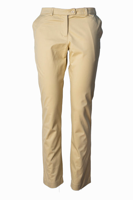 CREAM CHINO TROUSER