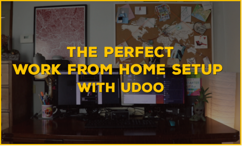 Work from home with the UDOO Bolt and UDOO X86 II