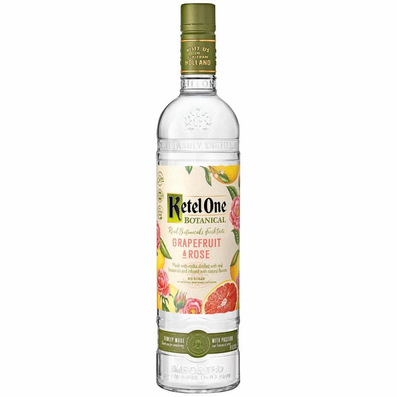 Ketel One Vodka, Grapefruit & Rose - 750ml - Bottle Buzz Liquor