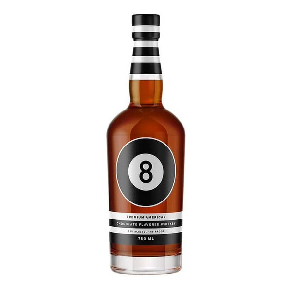8 Ball Chocolate Whiskey - Bottle Buzz Liquor