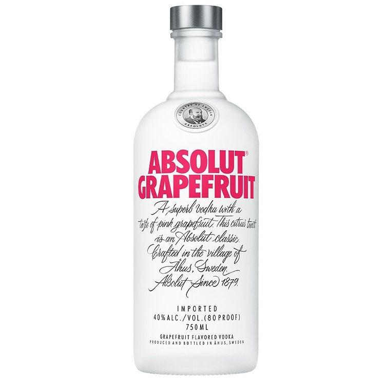Absolut Grapefruit Vodka - Bottle Buzz Liquor