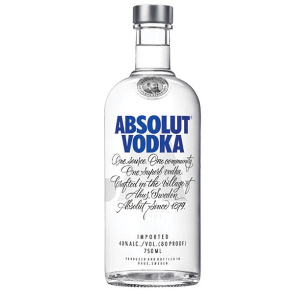 Absolut Vodka - Bottle Buzz Liquor