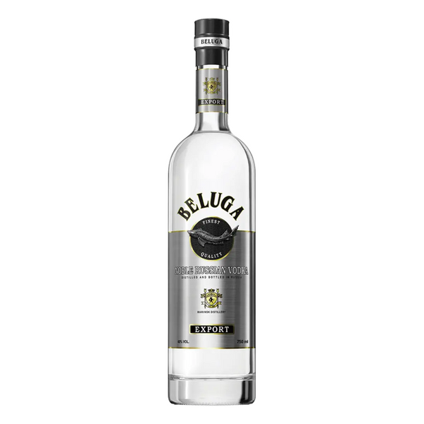 Beluga Noble Export Russian Vodka - Bottle Buzz Liquor