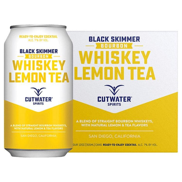 Cutwater Black Skimmer Whiskey Lemontea - Bottle Buzz Liquor