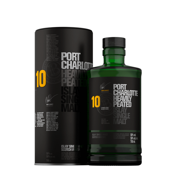 Bruichladdich Port Charlotte 10 Year Old - Bottle Buzz Liquor