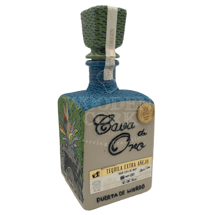 Cava De Oro Extra Anejo Ceramic - Bottle Buzz Liquor