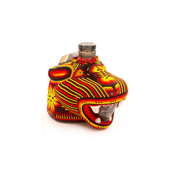 Chaquira Beaded Jaguar Anejo - Bottle Buzz Liquor