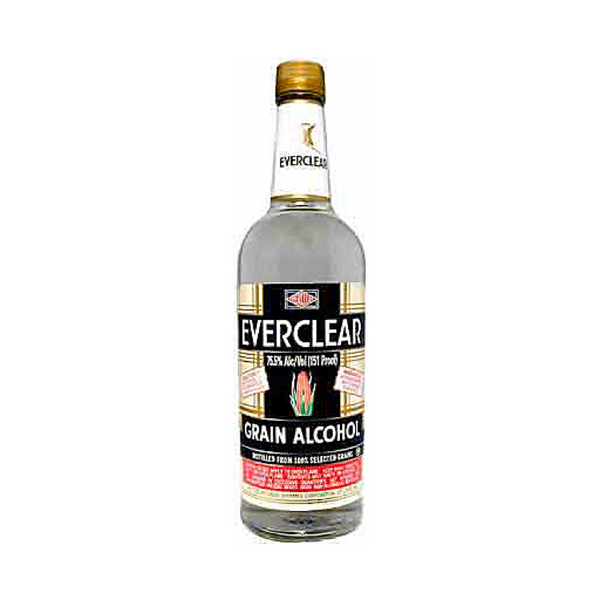 Everclear Grain Alcohol 120pf - Bottle Buzz Liquor