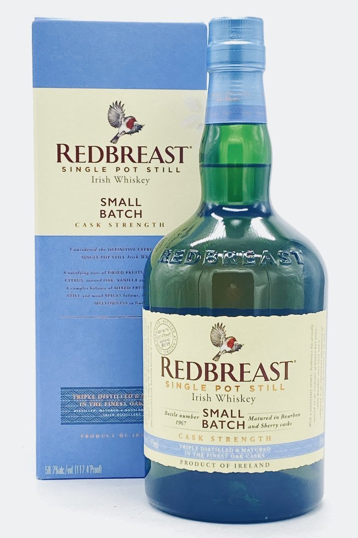 Redbreast Small Batch Cask Strength Irish Whiskey - Bottle Buzz Liquor