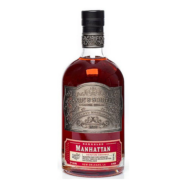 Handy & Schiller Barreled Manhattan Cocktail - Bottle Buzz Liquor