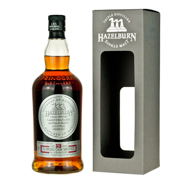 Hazelburn Single Malt 13 Year Old Scotch - BottleBuzz