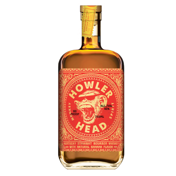 Howler Head Banana Infused Kentucky Straight Bourbon Whiskey - Bottle Buzz Liquor