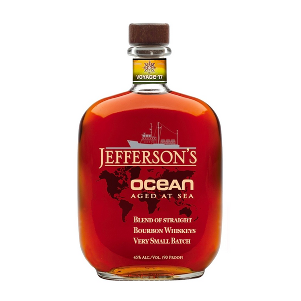 Jefferson's Ocean Aged at Sea Cask Strength Blended Straight Bourbon - Bottle Buzz Liquor
