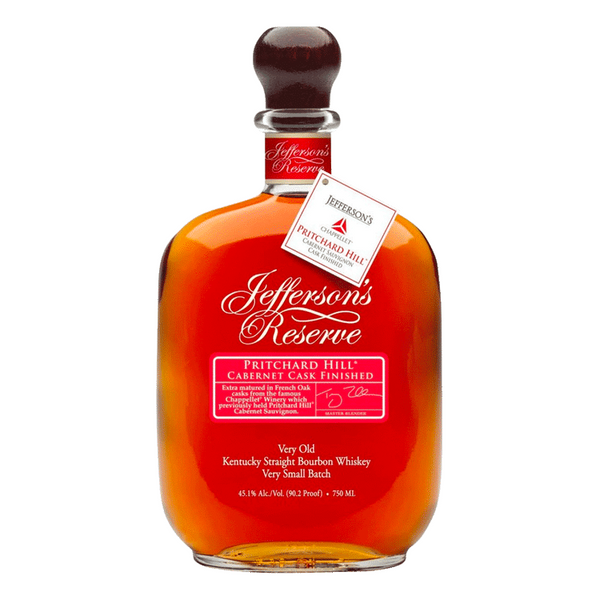Jefferson's Reserve Pritchard Hill Cabernet Cask Barrel Select Bourbon - BottleBuzz