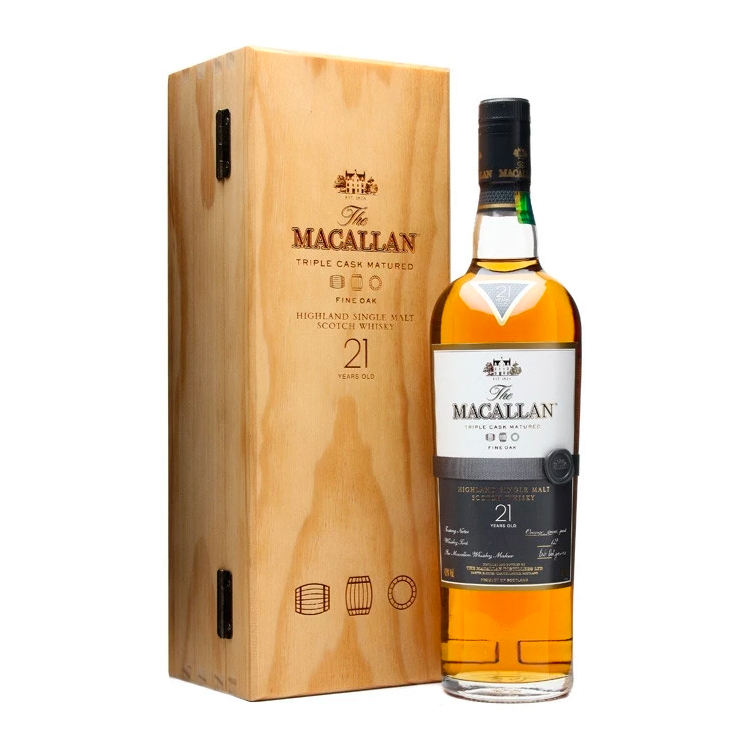 The Macallan Fine Oak 21 Year - Bottle Buzz Liquor