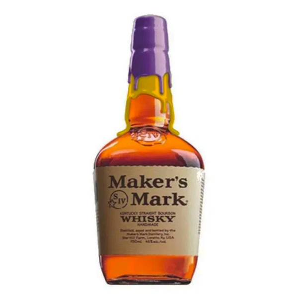 Maker's Mark Los Angeles Lakers Purple And Gold Limited Edition 1L - Bottle Buzz Liquor