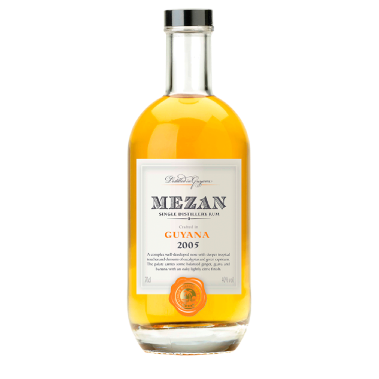 Mezan Single Distillery Rum Guyana 2005 - Bottle Buzz Liquor