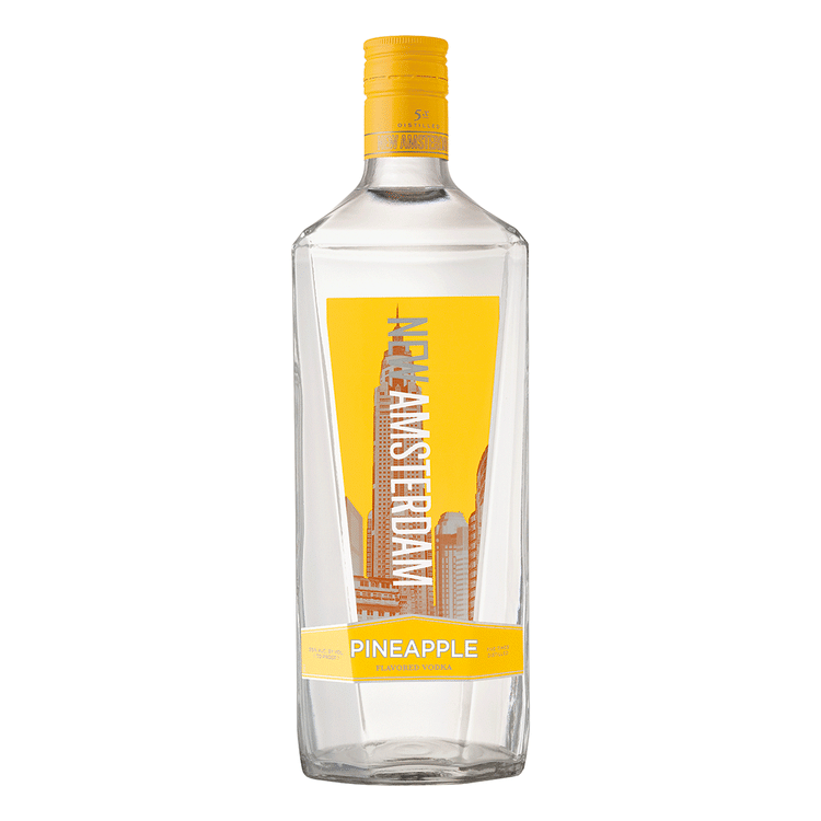 New Amsterdam Pineapple Vodka 1.75L - Bottle Buzz Liquor