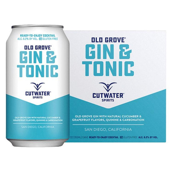 Cutwater Gin & Tonic - Bottle Buzz Liquor