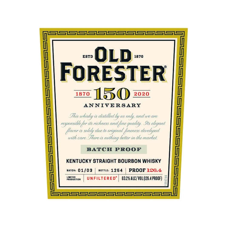 Old Forester 150th Anniversary Batch 1, 2 & 3 Set - BottleBuzz