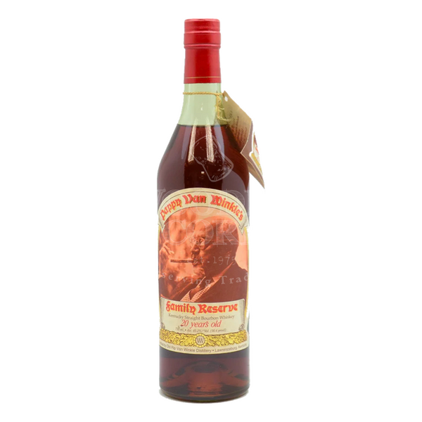 Pappy Van Winkle's Family Reserve 20 Year Old Lawrenceburg Green Glass - Bottle Buzz Liquor