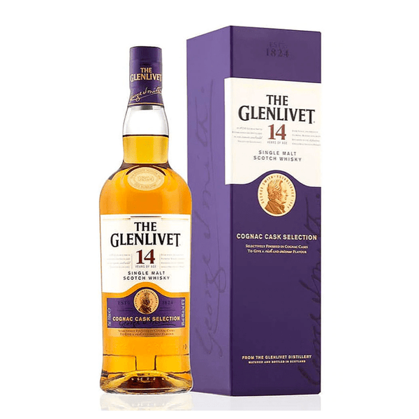 The Glenlivet 14 Year Cognac Cask Selection - Bottle Buzz Liquor