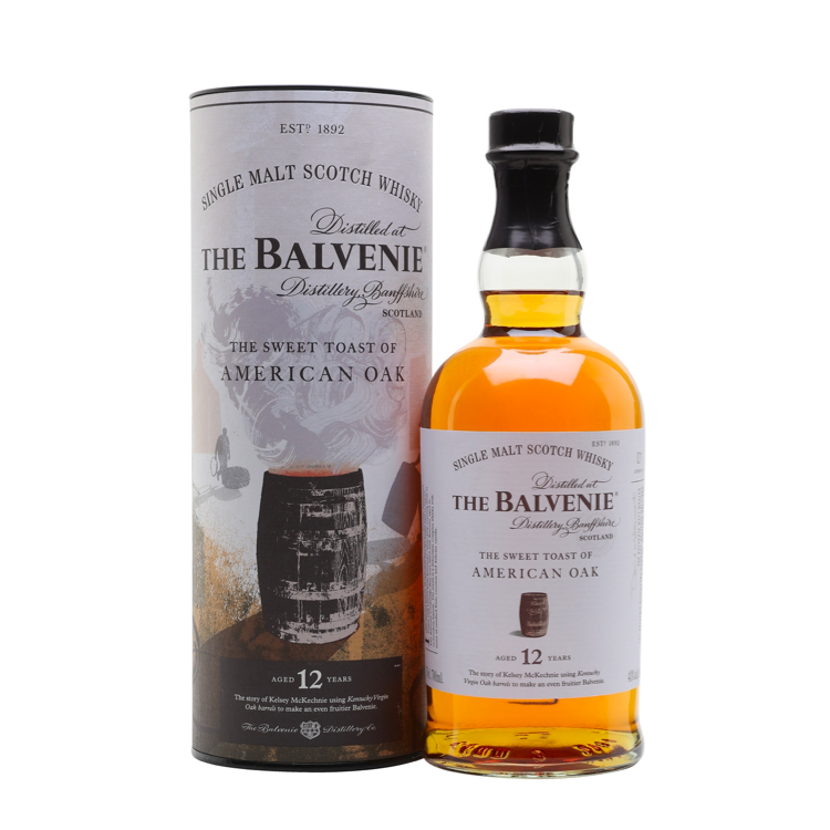 The Balvenie The Sweet Toast Of American Oak 12 Year Old - Bottle Buzz Liquor