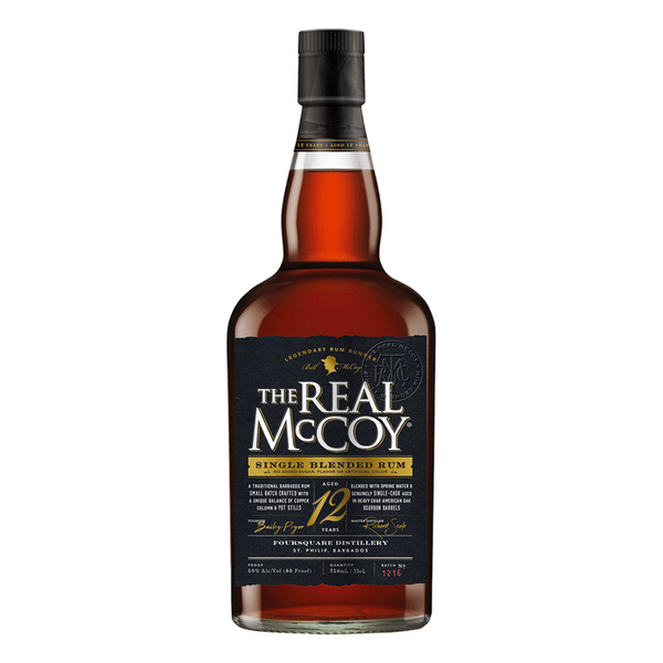The Real McCoy 12 Year Rum - Bottle Buzz Liquor