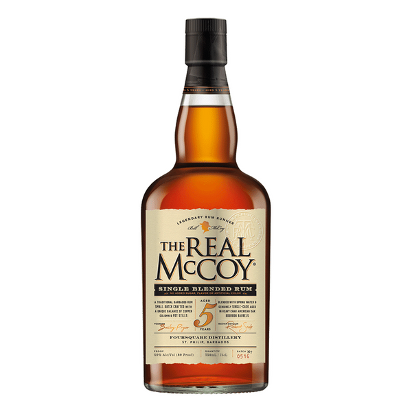 The Real McCoy 5 Year Rum - Bottle Buzz Liquor
