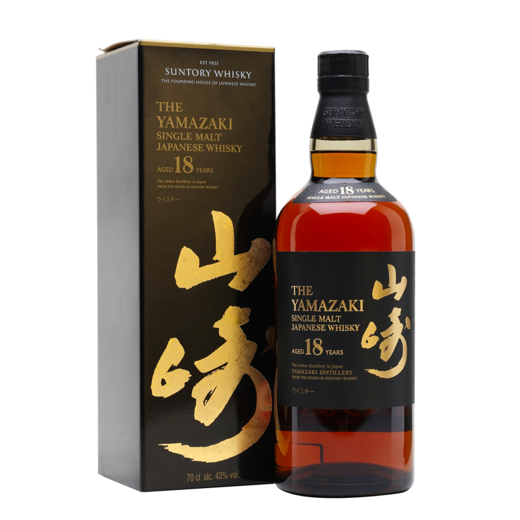 The Yamazaki 18 Year Old Single Malt Whisky - Bottle Buzz Liquor